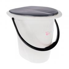 Ведро-туалет 17л. мрамор Smart Solution