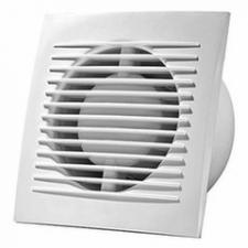 Вентилятор вытяжной Е-extra EE100WP с выключателем, 100 мм, 15 Вт, 100 куб.м/ч