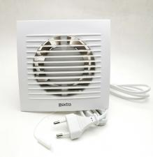 Вентилятор вытяжной Е-extra EE100T с таймером, 100 мм, 15 Вт, 100 куб.м/ч