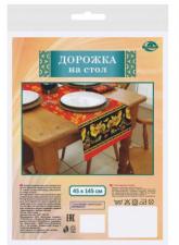 """Дорожка на стол """"Русский петух"""" 45х145см МТ88-304"""
