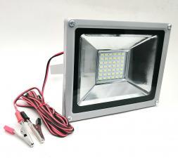 Прожектор-переноска CAICAI LED 20Вт, 12V, крокодилы