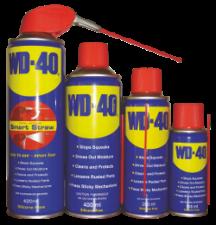Проникающая смазка WD-40, объем 100-420мл.