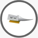 Уплотнитель E-профиль 9х4 двойной самокл