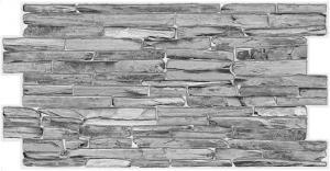 Панель ПВХ 0,98х0,498м сланец классический