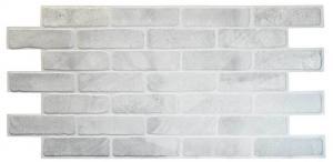Панель ПВХ 0,98х0,5м кирпич старый серый