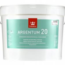 Краска в/д Tikkurila ARGENTUM 20 антимикробная (А) п/матовая
