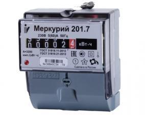 Счетчик электрической энергии Меркурий 201.7(60)А 1Ф