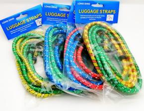 Резинка утягивающая для упаковки багажа с крючками 1,5м. ф6мм (уп.2шт.)