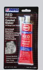 Герметик прокладок Abro красный 85гр