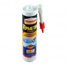 Герметик-силикон Момент санитарный 280мл