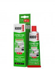 Герметик KUDO силикон санитарный белый 85мл.