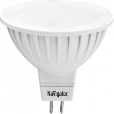 Светодиодная лампа Navigator MR16  GU5.3 3W 220В холодный свет