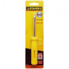 Отвертка 2в1 Stayer PH2/SL6 85мм 2515_z01
