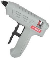 Термоклеевой (клеевой) пистолет 80Вт 12мм ЗУБР 06851-80-12