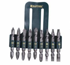 Набор бит Крафтул 9 предметов 26060-H10