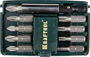 Набор бит Крафтул 10 предметов 26130-H10