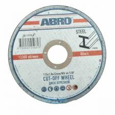 Диски по металлу ABRO для УШМ, ф115х22 мм