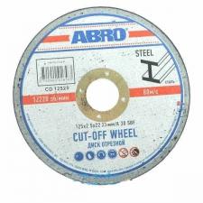 Диски по металлу ABRO для УШМ, ф125х22 мм