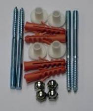 Крепление для унитаза к полу JIF415 4 шпильки