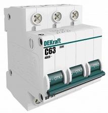 Автоматы (автоматический выключатель) DeKraft 3Р ВА101 16-63А
