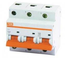 Автоматы (автоматический выключатель) TDM 3P ВА47-29 16-63A