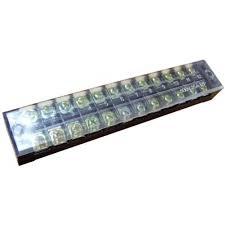 Колодка карболитовая ТВ-2512 25А, 12пар