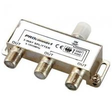 Разветвитель-краб на 3ТВ 5-1000 MHz