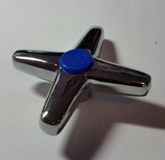 Маховик Крест металл квадрат 1шт. плоский