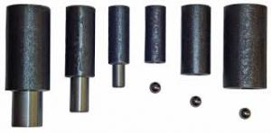 Шарниры для металлических дверей  с шариком приварной