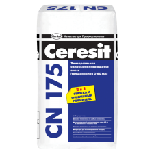 Самовыравнивающаяся смесь Ceresit CN 175 универсальная 25кг