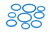 Кольцо уплотнительное силиконовое на фитинг