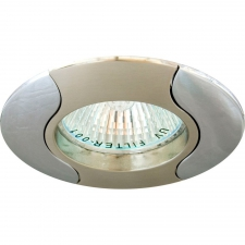 Светильник потолочный, софит Feron 020T MR16 G5.3 50W золото-хром
