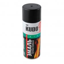 Эмаль аэрозольная KUDO термостойкая (3 цвета) 520мл