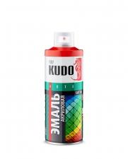 Эмаль акриловая KUDO полуматовая 520мл в ассортименте