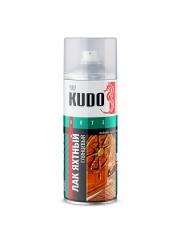 Лак яхтный аэрозольный KUDO универсальный 520мл