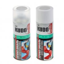 Грунт-эмаль аэрозольный KUDO для пластика 520мл