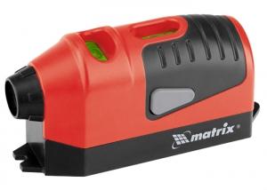 Лазерный уровень, отвес, маркер Matrix 35006