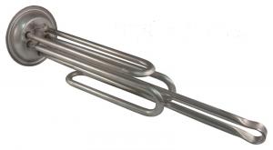 ТЭН, нагрев. элемент RF 2,0(1,5+0,5) кВт, анод М6, RZL-92мм 10941