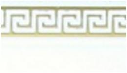 Карниз Лабиринт стандарт 2,4 метра, 2-х полосная. 8 цветов