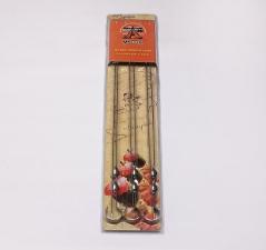 Набор шампуров Уголек 45см 12*0,15 в блистере-6шт