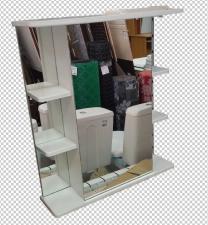 Зеркало Магнолия 65 белое 530-01
