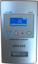Терморегулятор UTH-210 (4кВт) открытой установки серый