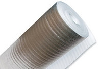 Подложка фольгированная самоклеющаяся  ширина 1м.