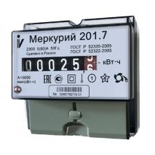 Электросчетчик Меркурий 201.7 220В 5-60А механич. сч.устр-во