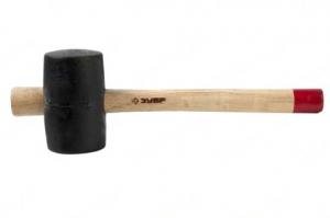Киянки резиновая Зубр деревянная ручка 2050