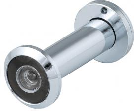 Глазок DVZ3, 16/200/50x90 (оптика пластик, угол обзора 200) CP Хром, Fuaro