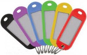 Бирки для ключей 6 шт. FIT 67400