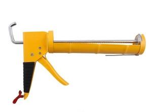 Пистолет для герметиков полукорпусной ABRO желтый