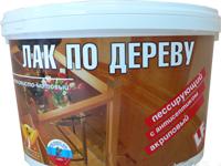 """Лак по дереву """"Талеж"""" ВД-АК 101"""