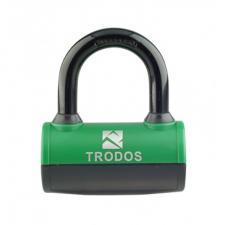 Замок навесной TRODOS ВМ-085 зеленый всепогодный